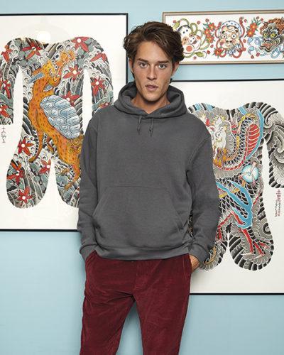 276.42 Hooded Sweatshirt WU600 B&C PASprint Antwerpen