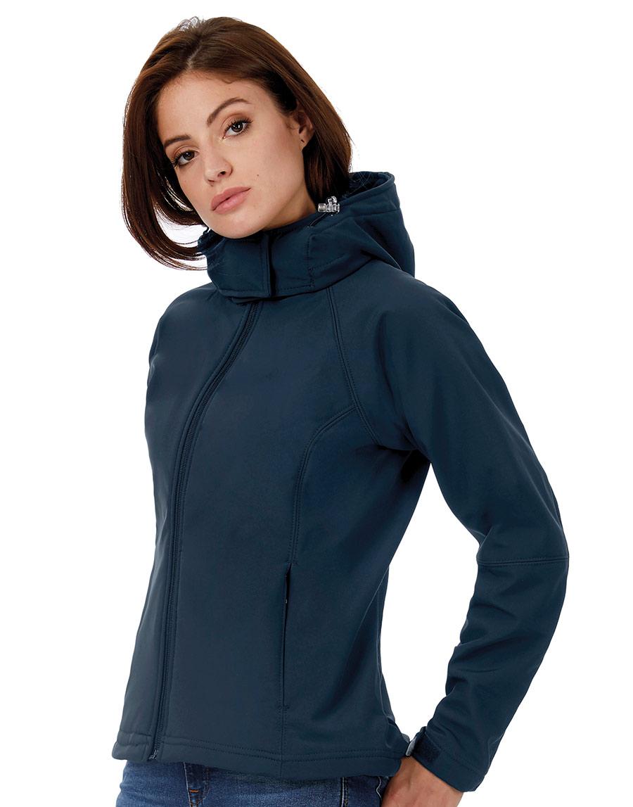 462.42 Hooded Softshell Women JW937