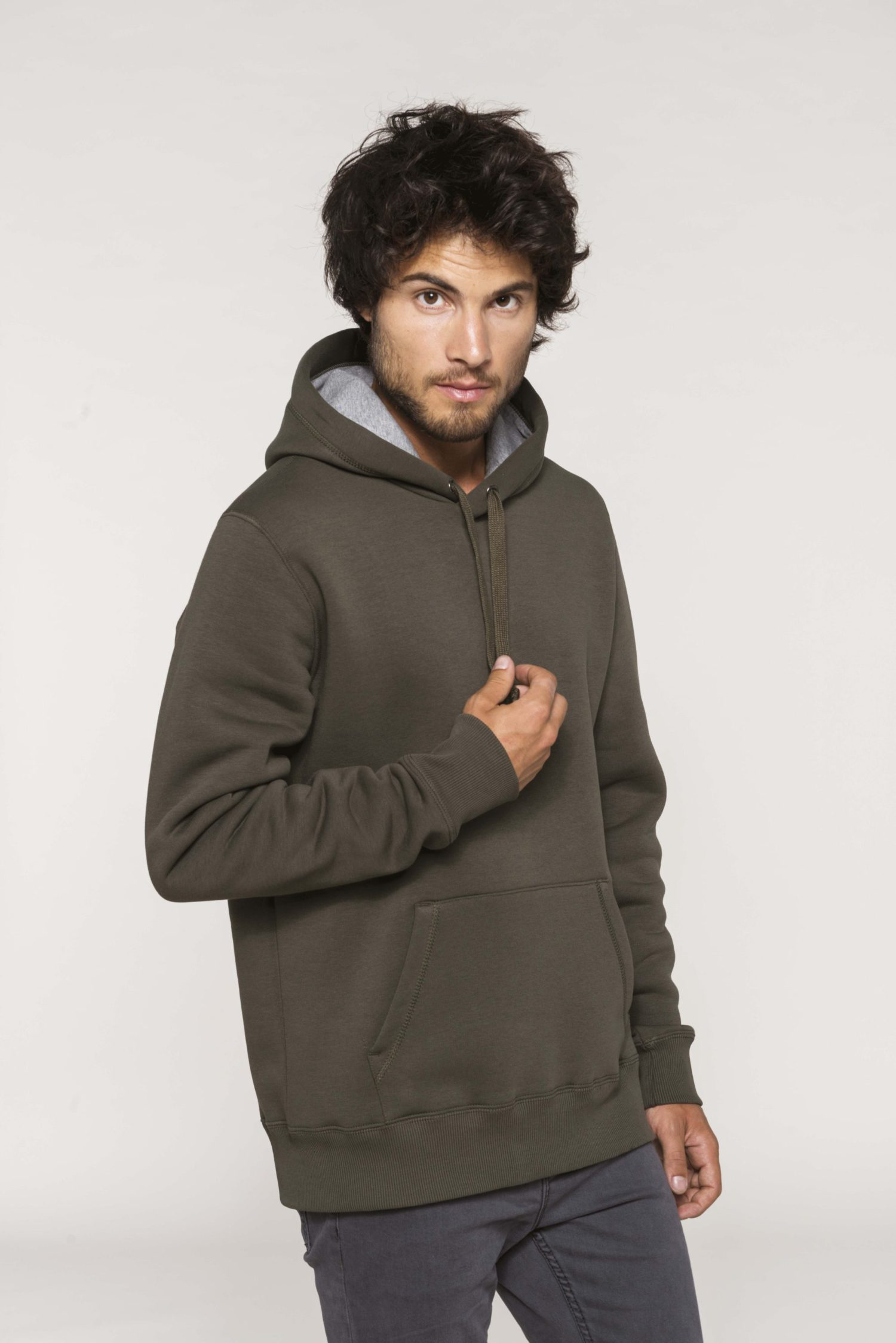 K443 Hooded Sweatshirt PAS Print Kariban
