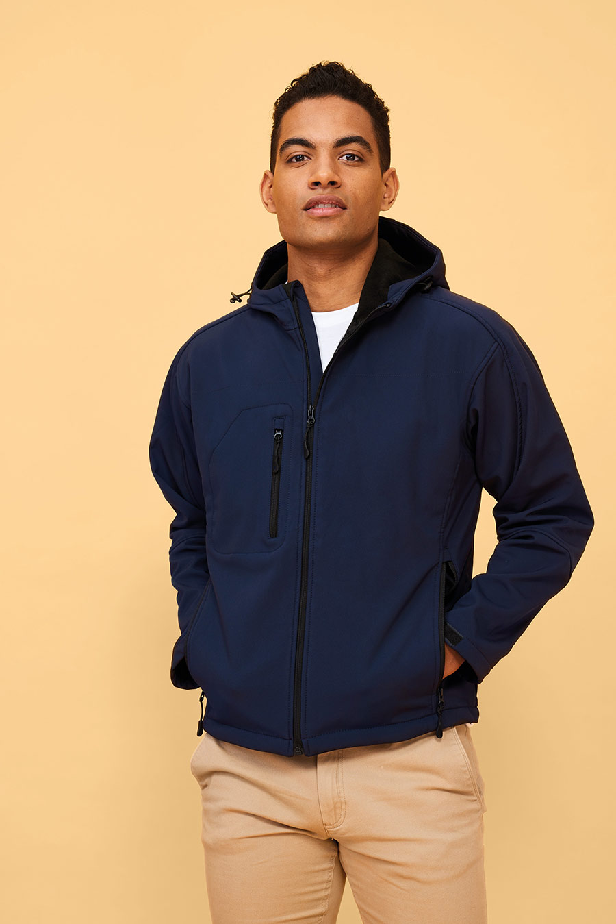 Sol's 46602 Replay Men's Hooded Softshell