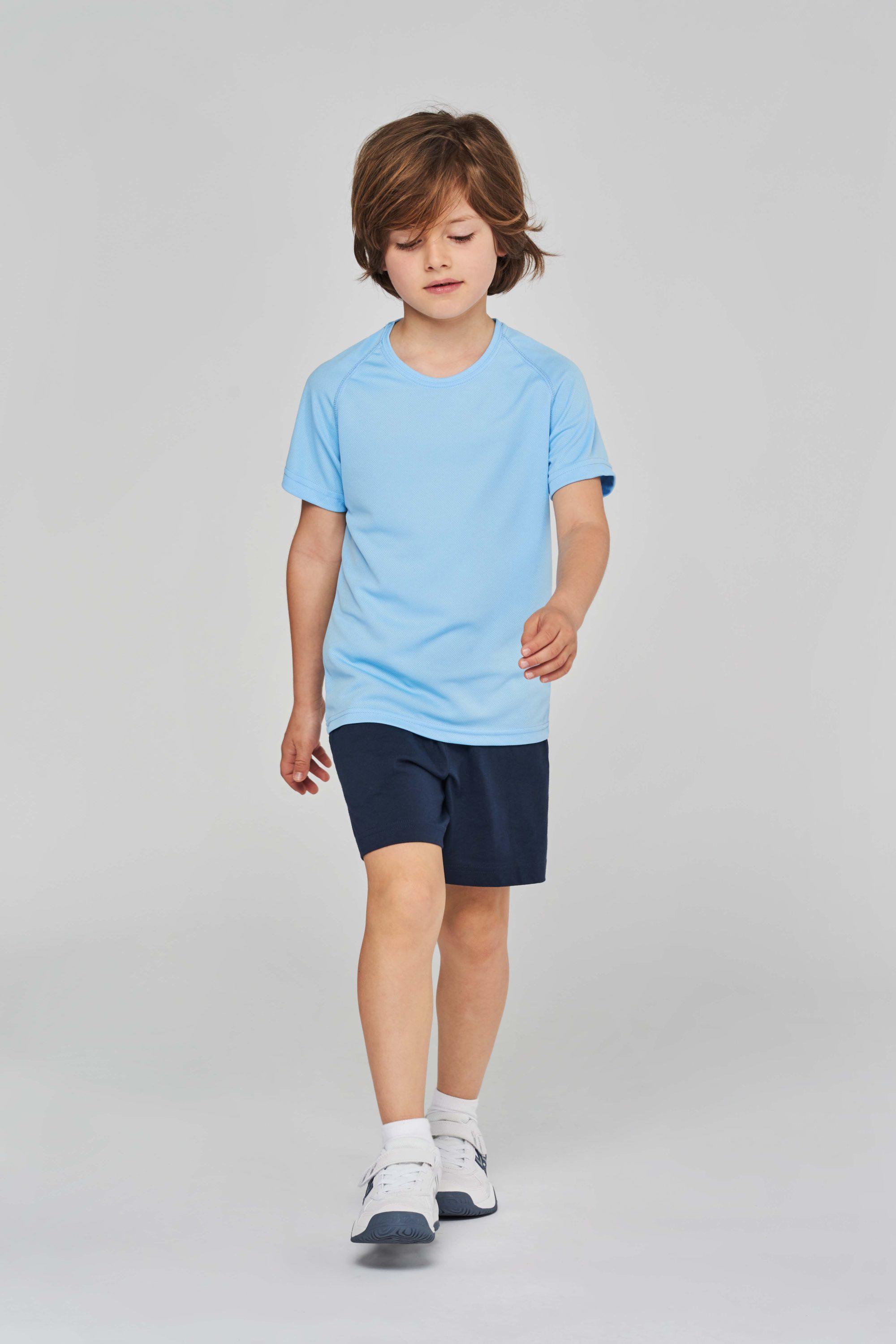 PA445 Functioneel Kindersportshirt Proact Sportkledij PAS Print