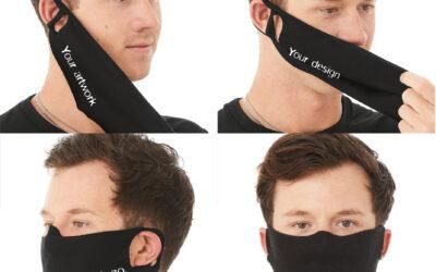 Personaliseren van facecovers bij Pasprint te Antwerpen.