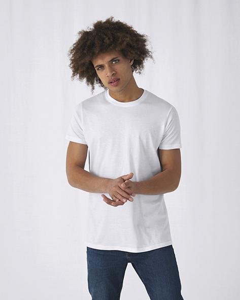 B&C 015.42 TU01T #E150 T-Shirt Hashtag Standaard Tee Pasprint