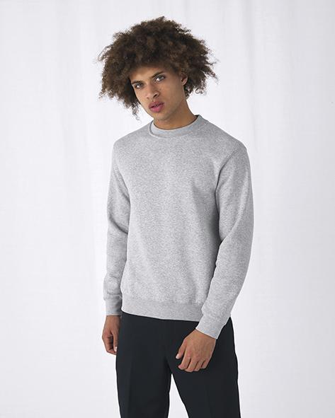 B&C 216.42 WU600 Set In Sweatshirt Zeefdrukkerij PAS