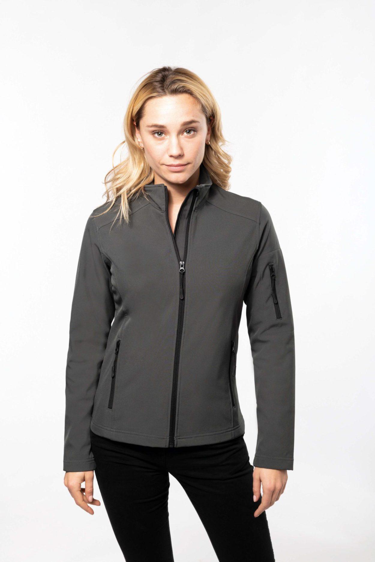 K400 Ladies Softshell Jacket Kariban Borduuratelier Pasprint