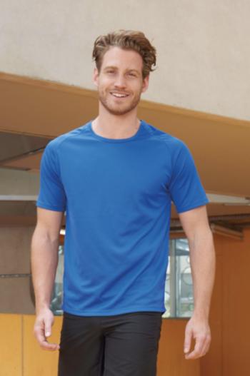 11939 Sporty T-Shirt Men Runningshirt Sols Pasprint Textieldrukkerij - Deurne 10 Miles Marathon