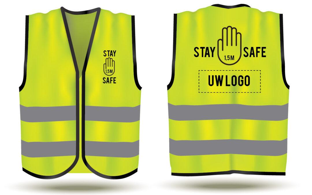 Safety vestjes voor jou veiligheid, en die van jou omgeving. Hou iedereen op veilige afstand