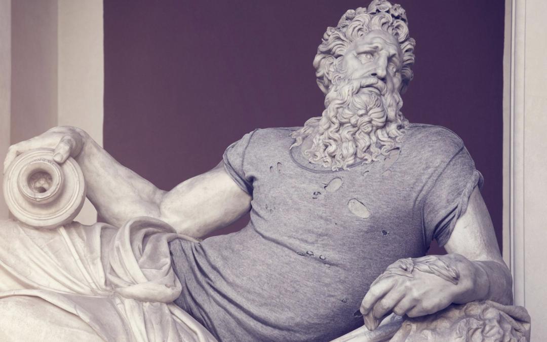 Leo Caillard: When the antiques meet contemporary.