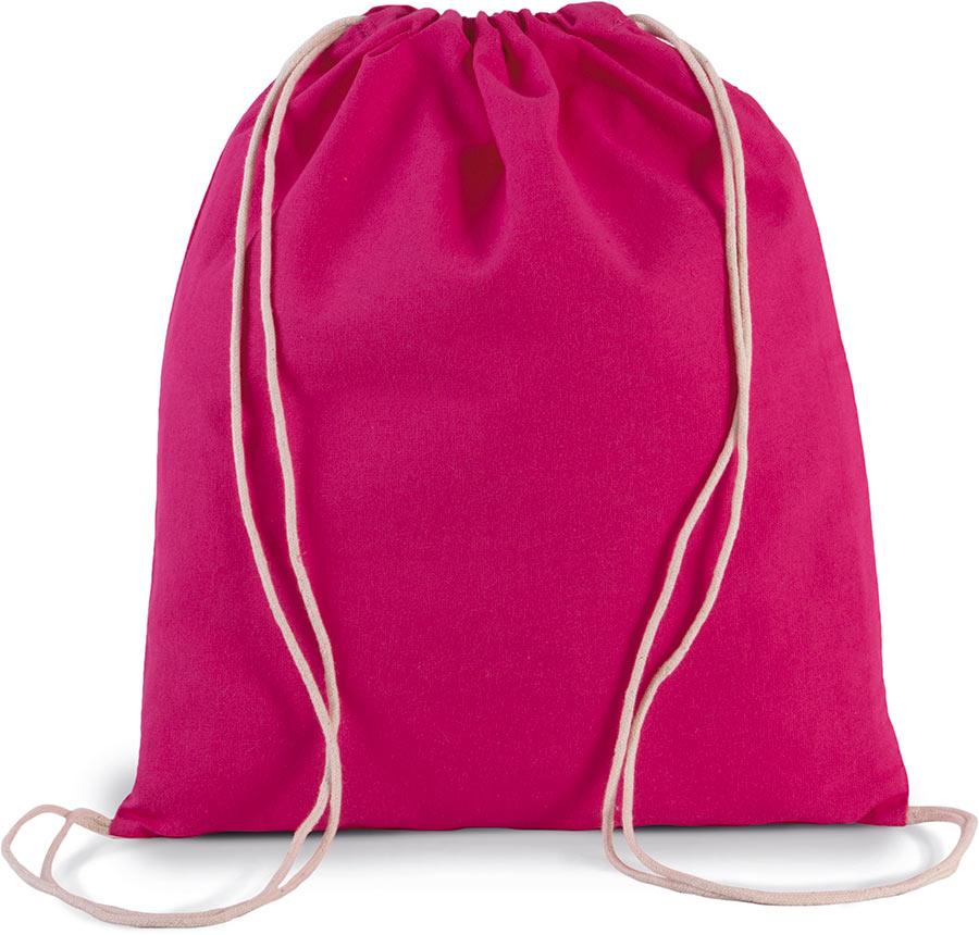 KI0147 Organic Cotton Small Drawstring Bag