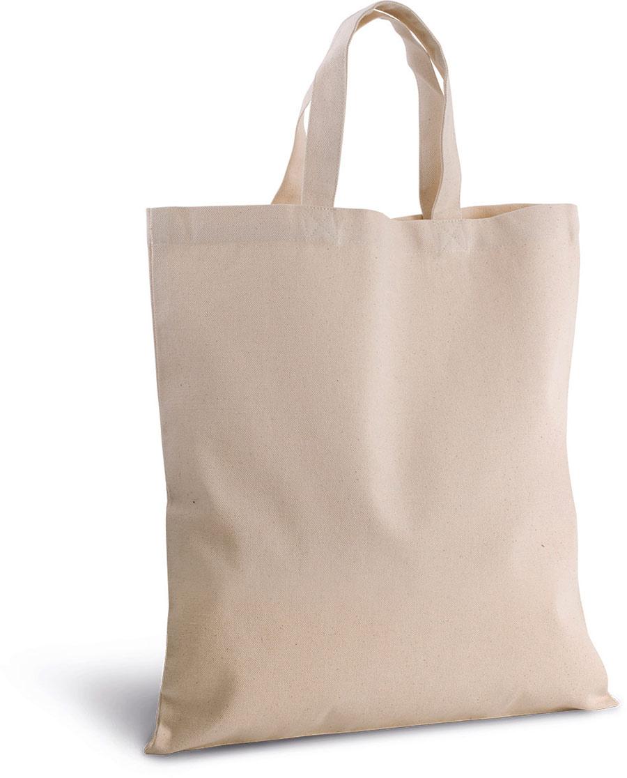 KI0249 Cotton Canvas Shopper Bag