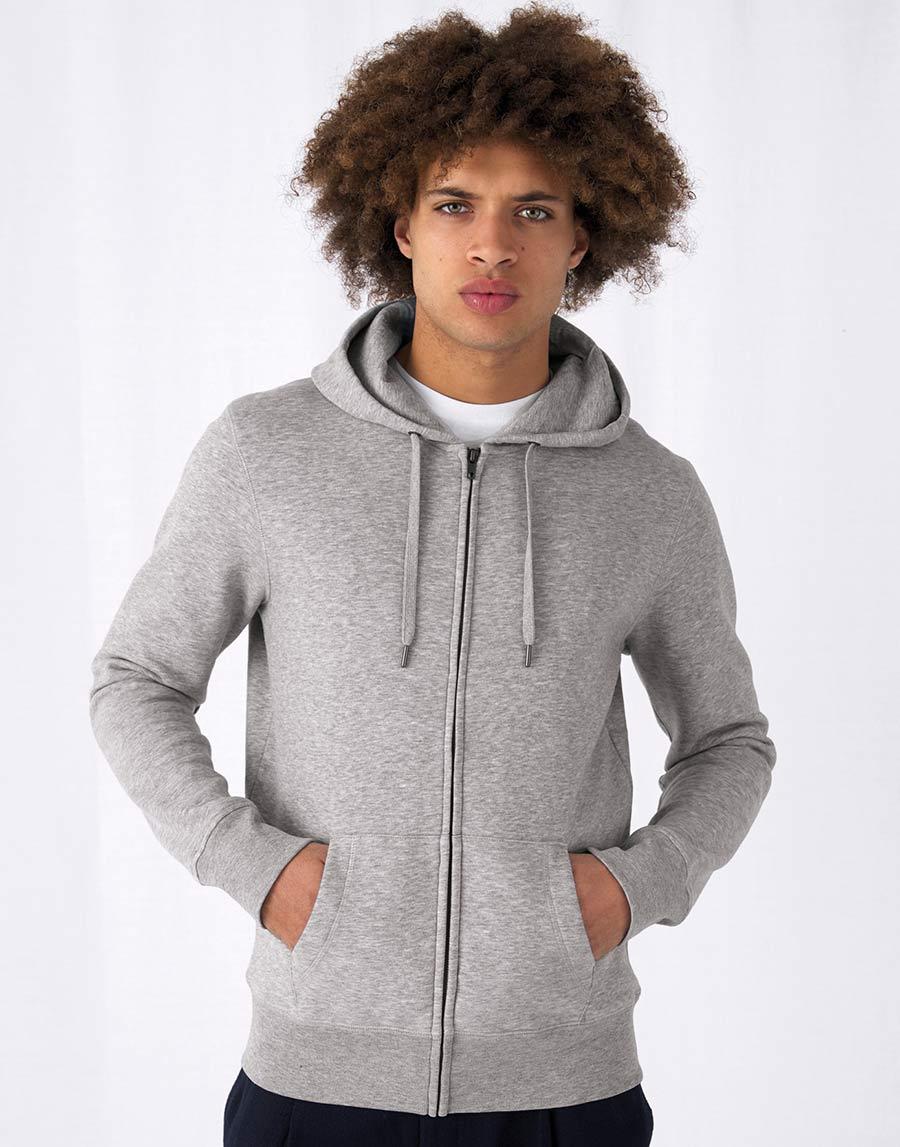 WU03K KING Zipped Hood